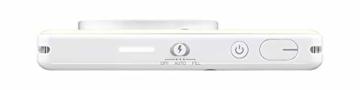 Canon Zoemini S digitale 8 MP Sofortbildkamera und Mini-Fotodrucker (Sucher, Ringblitz/ LED-Blitz, Micro-SD Kartenslot, Canon Mini Print App, ZINK-Druck tintenfrei), pearl white - 6