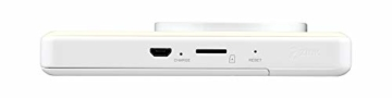Canon Zoemini S digitale 8 MP Sofortbildkamera und Mini-Fotodrucker (Sucher, Ringblitz/ LED-Blitz, Micro-SD Kartenslot, Canon Mini Print App, ZINK-Druck tintenfrei), pearl white - 7