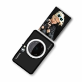 Canon Zoemini S digitale 8 MP Sofortbildkamera und Mini-Fotodrucker (Sucher, Ringblitz/ LED-Blitz, Micro-SD Kartenslot, Canon Mini Print App, ZINK-Druck tintenfrei), matte black - 1