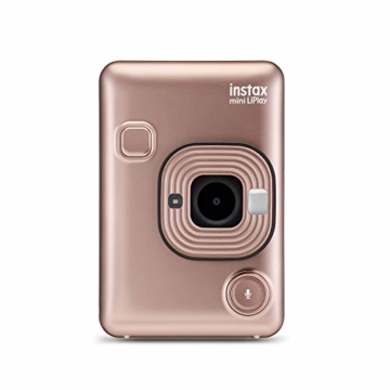 Fujifilm Instax Mini LiPlay Blush Gold - 3