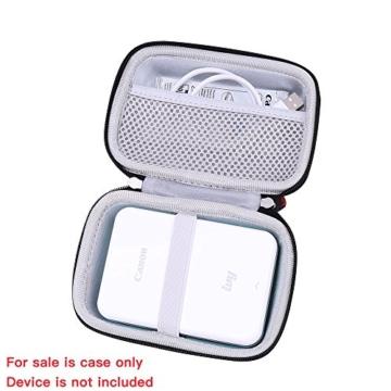 Hart Taschen Hülle für Canon Zoemini Mobiler Mini-Fotodrucker von Hermitshell (roesegold - 3