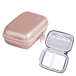 Hart Taschen Hülle für Canon Zoemini Mobiler Mini-Fotodrucker von Hermitshell (roesegold - 1