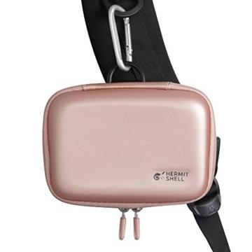 Hart Taschen Hülle für Canon Zoemini Mobiler Mini-Fotodrucker von Hermitshell (roesegold - 6