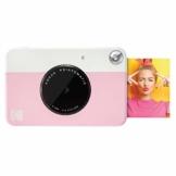 Kodak PRINTOMATIC Digitale Sofortbildkamera, Vollfarbdrucke auf Zink 2x3-Fotopapier mit Sticky-Back-Funktion - Drucken Sie Memories Sofort (Rosa) - 1