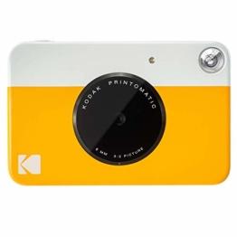 Kodak Printomatic Sofortbildkamera - Gelb - 1