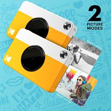 Kodak Printomatic Sofortbildkamera - Gelb - 4