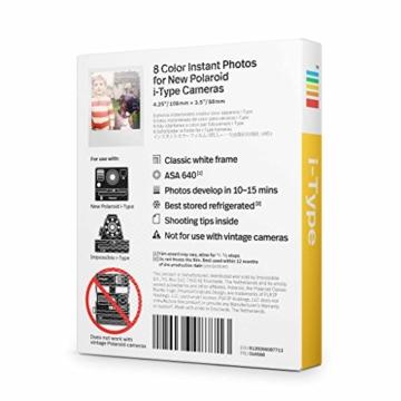 Polaroid Originals - 4668 - Sofortbildfilm Farbe fûr i-Type Kamera - 2