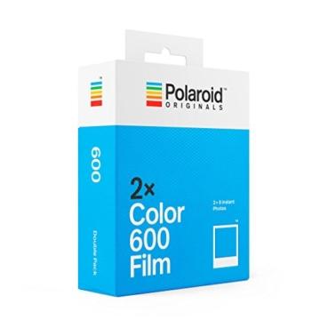 Polaroid Originals - 4841 - Doppelpack Sofortbildfilm für 600 und i-Type Kamera - Weißer Rahmen - 2