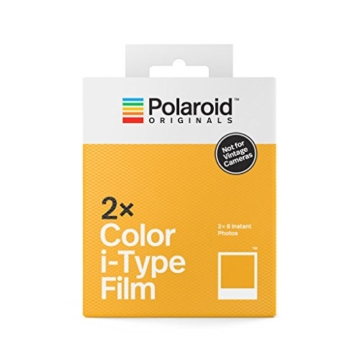 Polaroid Originals  Film i-Type Farbe Doppelpack - Weißer Rahmen - 1