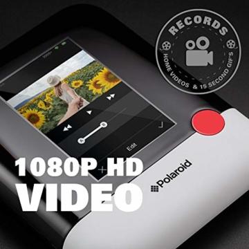 Polaroid POP 2.0 20MP Digital Sofortbildkamera mit 3,97 Touchscreen-Display, Zink Zero Ink-Technologie druckt 3,5 x 4,25 Fotos, Schwarz - 5