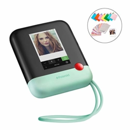Polaroid POP 2.0 20MP Digital Sofortbildkamera mit 3,97 Touchscreen-Display, Zink Zero Ink-Technologie druckt 3,5 x 4,25 Fotos, Grün - 1