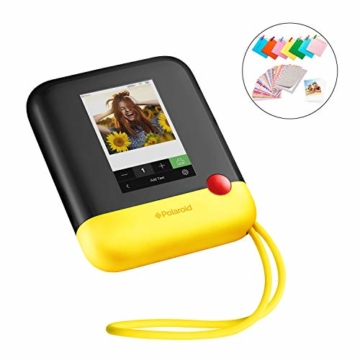 Polaroid POP 2.0 20MP Digital Sofortbildkamera mit 3,97 Touchscreen-Display, Zink Zero Ink-Technologie druckt 3,5 x 4,25 Fotos, Gelb - 1