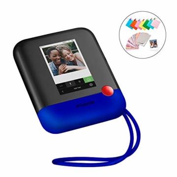 Polaroid POP 2.0 20MP Digital Sofortbildkamera mit 3,97 Touchscreen-Display, Zink Zero Ink-Technologie druckt 3,5 x 4,25 Fotos, Blau - 1
