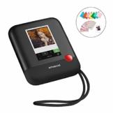 Polaroid POP 2.0 20MP Digital Sofortbildkamera mit 3,97 Touchscreen-Display, Zink Zero Ink-Technologie druckt 3,5 x 4,25 Fotos, Schwarz - 1