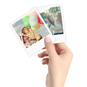 Polaroid POP 3x4 (7.6x10 cm) Sofortdruck-Digitalkamera mit Zink Zero Tintendrucktechnologie - Weiß - 4