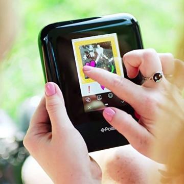 Polaroid POP 3x4 (7.6x10 cm) Sofortdruck-Digitalkamera mit Zink Zero Tintendrucktechnologie - Weiß - 9