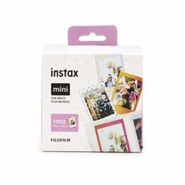 Instax Mini 3er Pack Rainbow, Candypop, Macaron + Album - 1