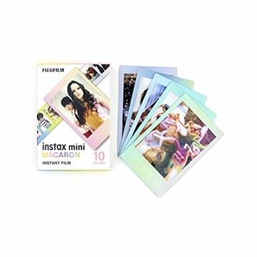 Instax Mini 3er Pack Rainbow, Candypop, Macaron + Album - 2
