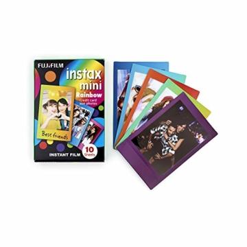 Instax Mini 3er Pack Rainbow, Candypop, Macaron + Album - 3