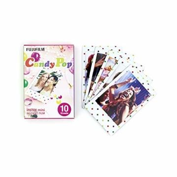 Instax Mini 3er Pack Rainbow, Candypop, Macaron + Album - 4