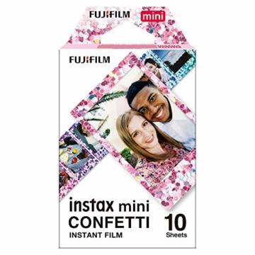 Fujifilm instax Mini Confetti Glass Film, Bunt metallic - 1