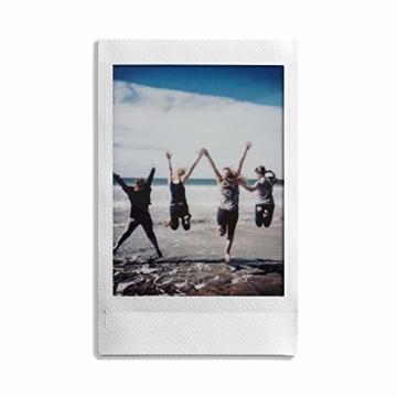 Fujifilm Instax Mini Instant Film, 5x 10 Blatt (50 Blatt), Weiß - 3