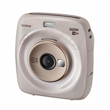 Fujifilm instax SQUARE SQ 20 Hybride Sofortbildkamera, beige - 1