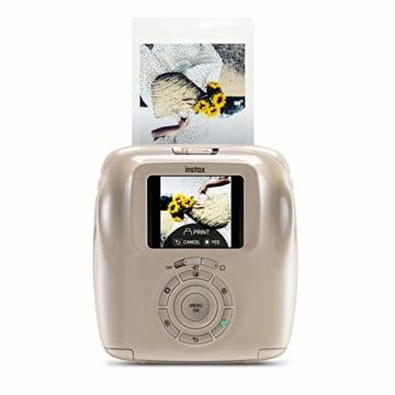 Fujifilm instax SQUARE SQ 20 Hybride Sofortbildkamera, beige - 2