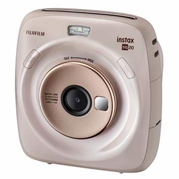 Fujifilm instax SQUARE SQ 20 Hybride Sofortbildkamera, beige - 3