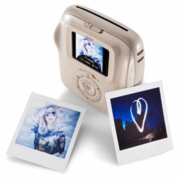 Fujifilm instax SQUARE SQ 20 Hybride Sofortbildkamera, beige - 5