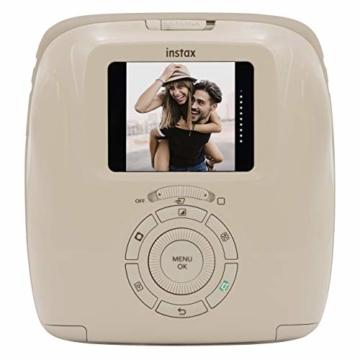 Fujifilm instax SQUARE SQ 20 Hybride Sofortbildkamera, beige - 6