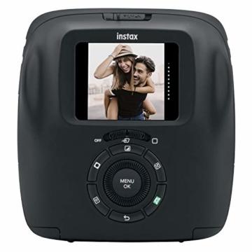 Fujifilm instax SQUARE SQ 20 Hybride Sofortbildkamera, schwarz - 2