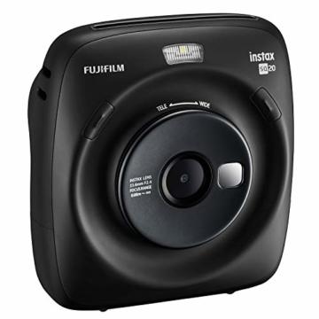 Fujifilm instax SQUARE SQ 20 Hybride Sofortbildkamera, schwarz - 3