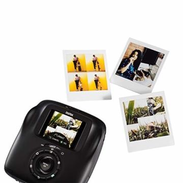 Fujifilm instax SQUARE SQ 20 Hybride Sofortbildkamera, schwarz - 6