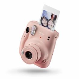 instax mini 11 Camera, Blush Pink - 1