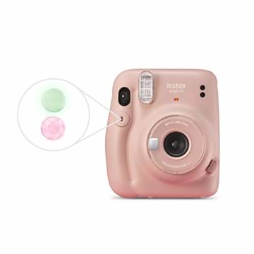 instax mini 11 Camera, Blush Pink - 3