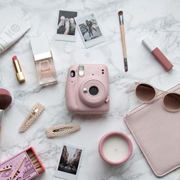 instax mini 11 Camera, Blush Pink - 4
