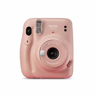 instax mini 11 Camera, Blush Pink - 5