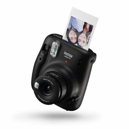 instax mini 11 Camera, Charcoal Gray - 1