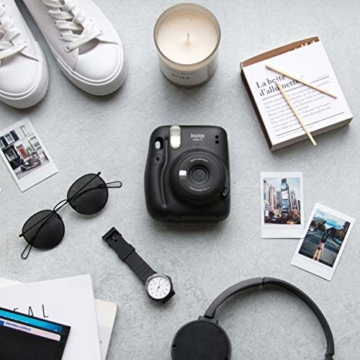 instax mini 11 Camera, Charcoal Gray - 5