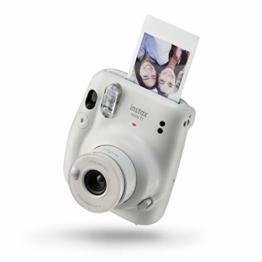 instax mini 11 Camera, Ice White - 1