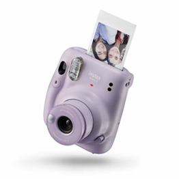 instax mini 11 Camera, Lilac Purple - 1