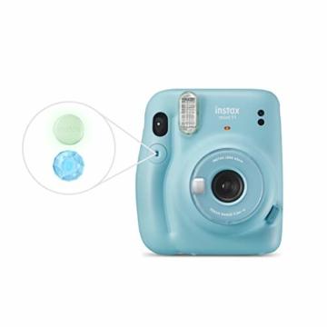 instax mini 11 Camera, Sky Blue - 2