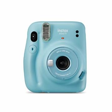instax mini 11 Camera, Sky Blue - 5