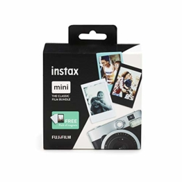 Instax Mini 3er Pack Monochrome, Skyblue, Black + Magnete - 1