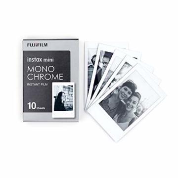 Instax Mini 3er Pack Monochrome, Skyblue, Black + Magnete - 2