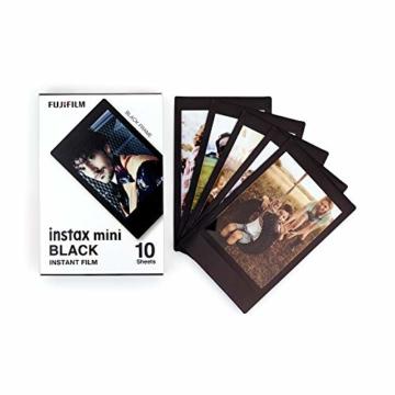 Instax Mini 3er Pack Monochrome, Skyblue, Black + Magnete - 3