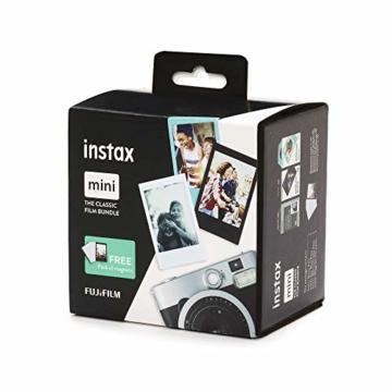 Instax Mini 3er Pack Monochrome, Skyblue, Black + Magnete - 5