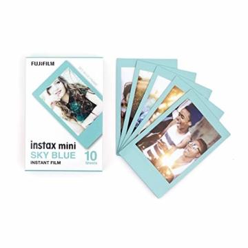 Instax Mini 3er Pack Monochrome, Skyblue, Black + Magnete - 7